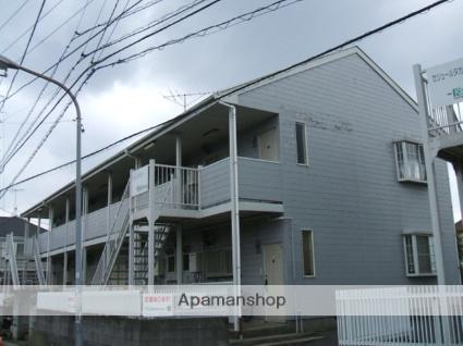 千葉県市川市、本八幡駅徒歩20分の築28年 2階建の賃貸アパート