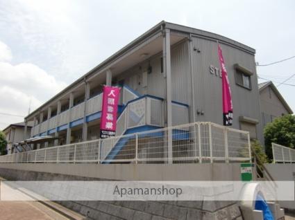 千葉県市川市、北国分駅徒歩2分の築17年 2階建の賃貸アパート