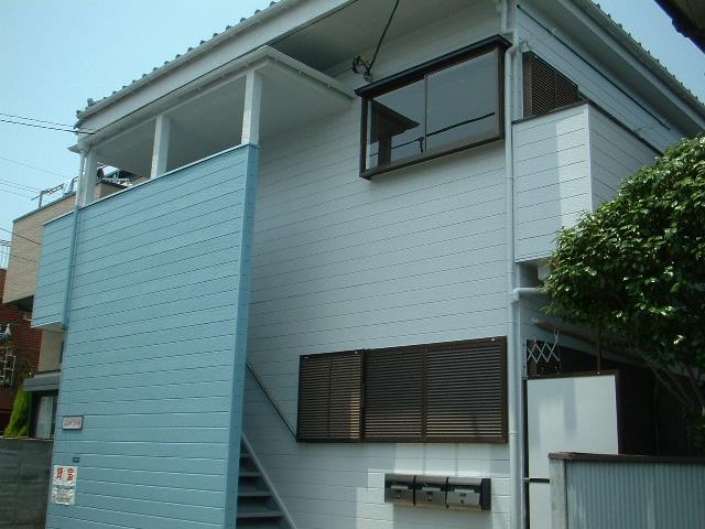 千葉県市川市、市川駅徒歩13分の築29年 2階建の賃貸アパート