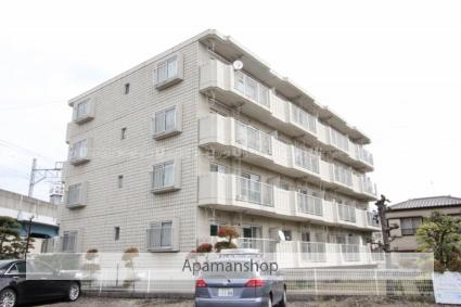 千葉県市川市、下総中山駅徒歩21分の築28年 4階建の賃貸マンション