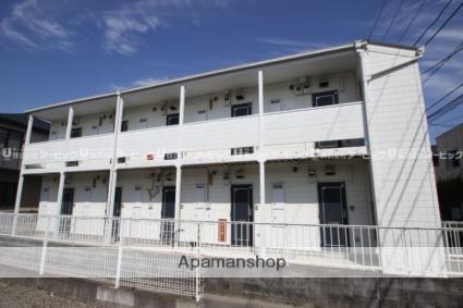 千葉県市川市、本八幡駅徒歩10分の築25年 2階建の賃貸アパート