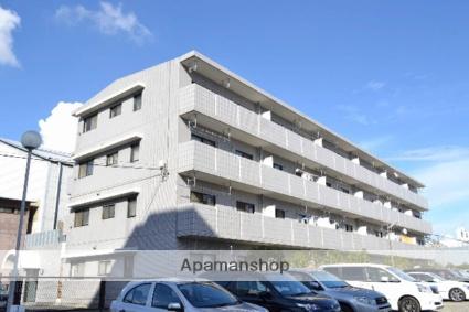 千葉県市川市、原木中山駅徒歩6分の築26年 4階建の賃貸マンション