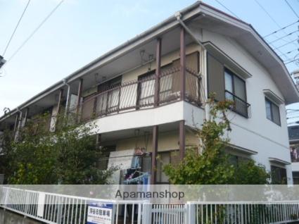 千葉県市川市、市川駅徒歩18分の築32年 2階建の賃貸アパート