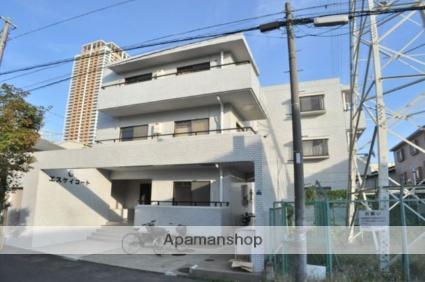 千葉県市川市、市川駅徒歩5分の築28年 3階建の賃貸マンション