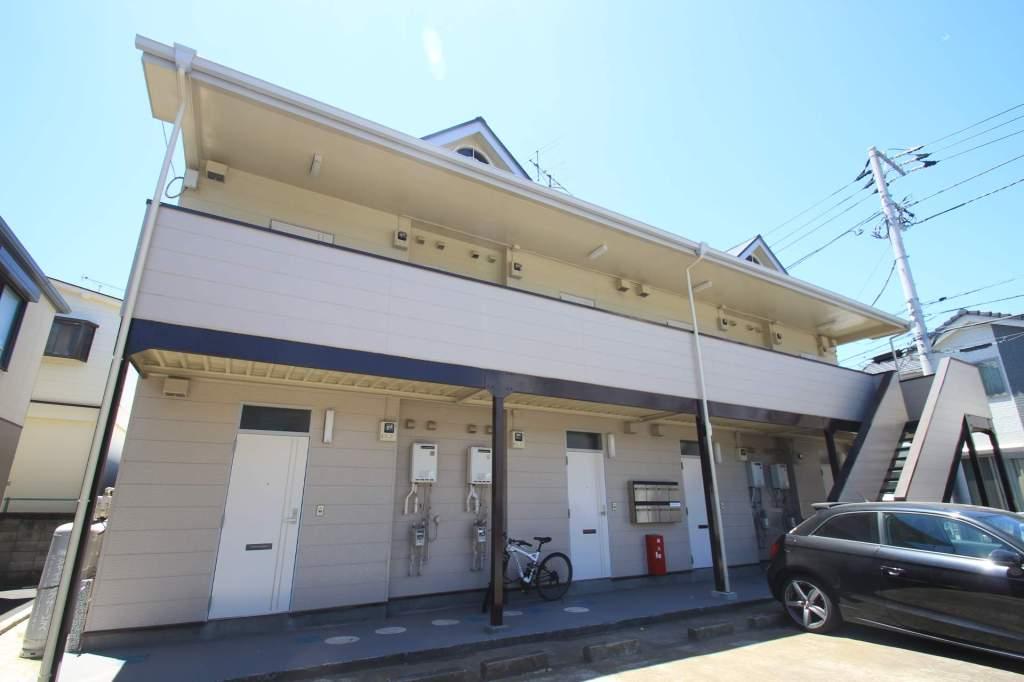 千葉県船橋市、船橋駅徒歩22分の築27年 2階建の賃貸アパート