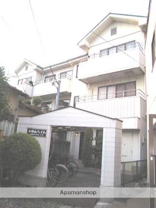 千葉県船橋市、下総中山駅徒歩6分の築27年 3階建の賃貸マンション