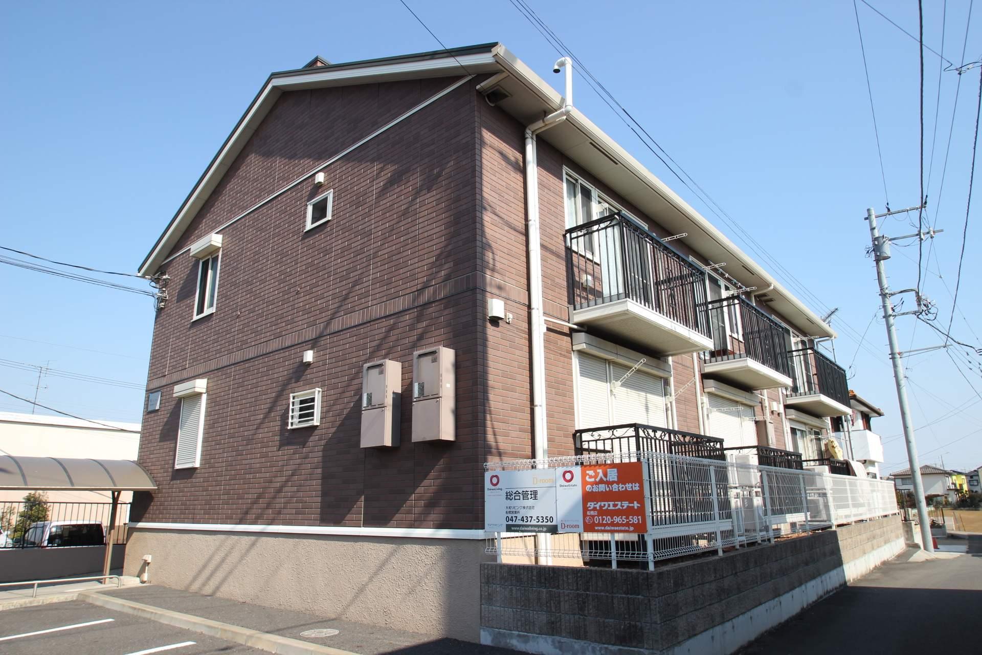 千葉県船橋市、飯山満駅徒歩19分の築9年 2階建の賃貸アパート