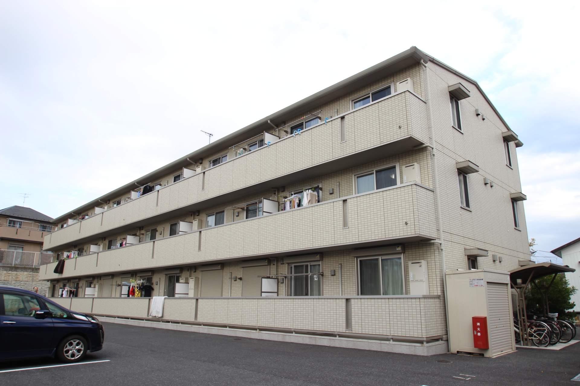 千葉県船橋市、船橋法典駅徒歩19分の築6年 3階建の賃貸アパート