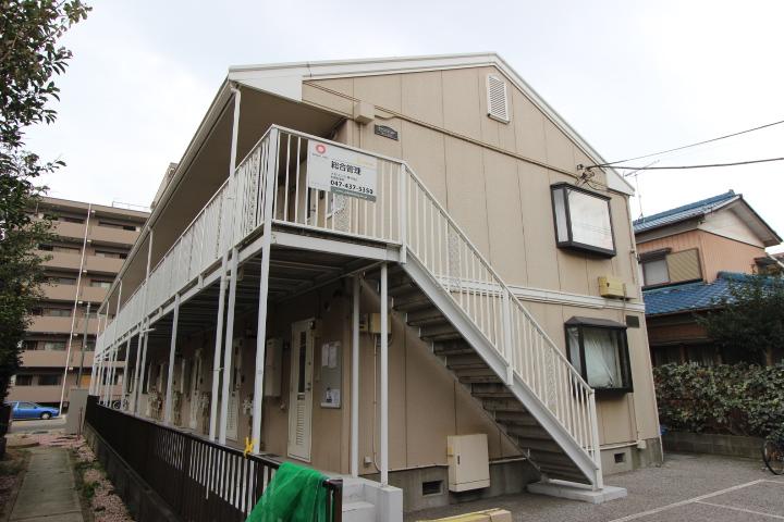 千葉県船橋市、東船橋駅徒歩17分の築23年 2階建の賃貸アパート