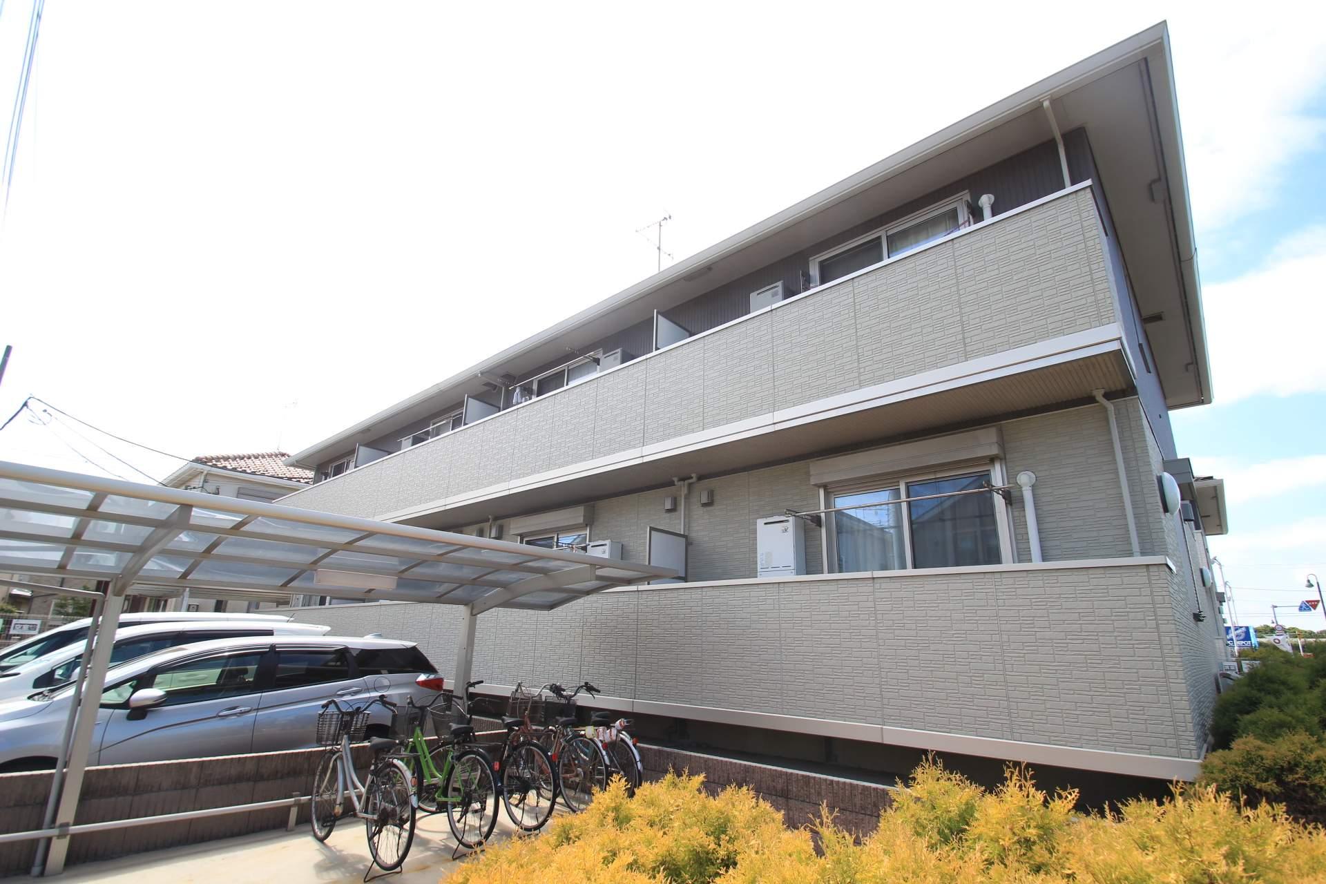 千葉県鎌ケ谷市、六実駅徒歩20分の築6年 2階建の賃貸アパート