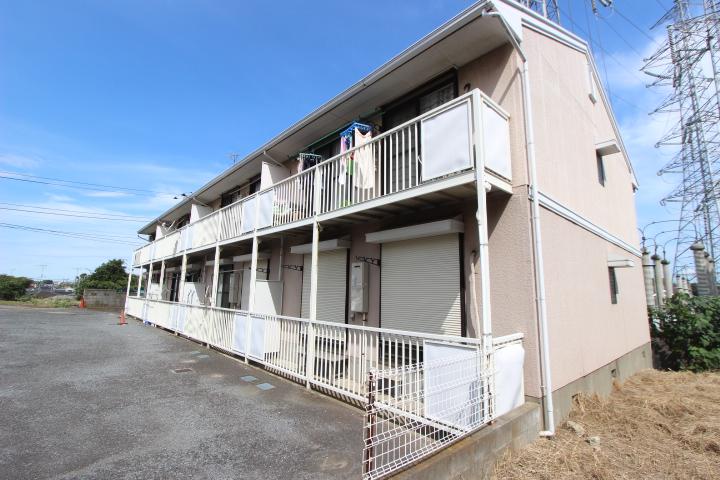 千葉県船橋市、塚田駅徒歩3分の築26年 2階建の賃貸アパート