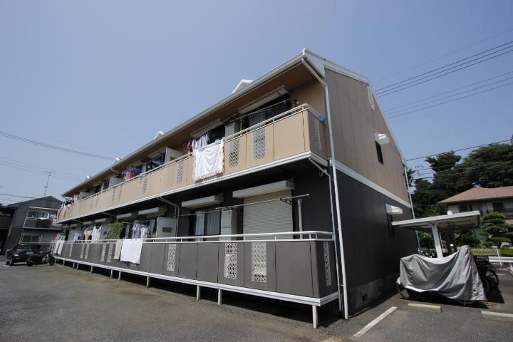 千葉県船橋市、船橋法典駅徒歩20分の築26年 2階建の賃貸アパート