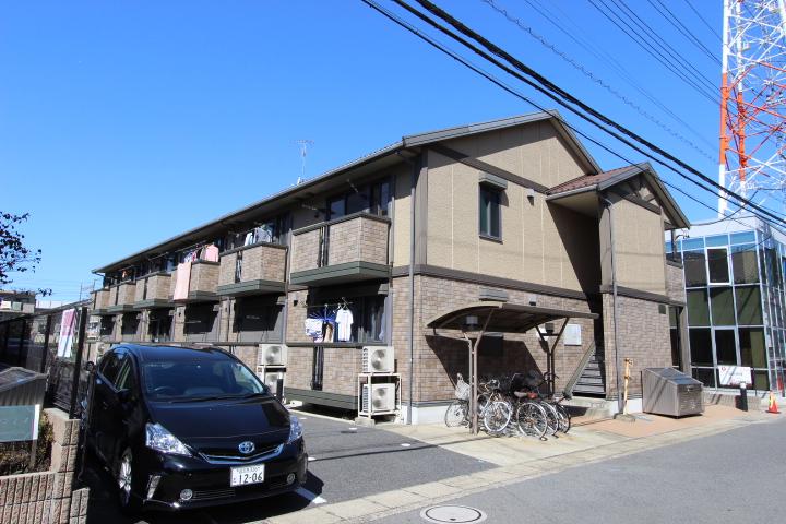 千葉県市川市、西船橋駅徒歩7分の築13年 2階建の賃貸アパート