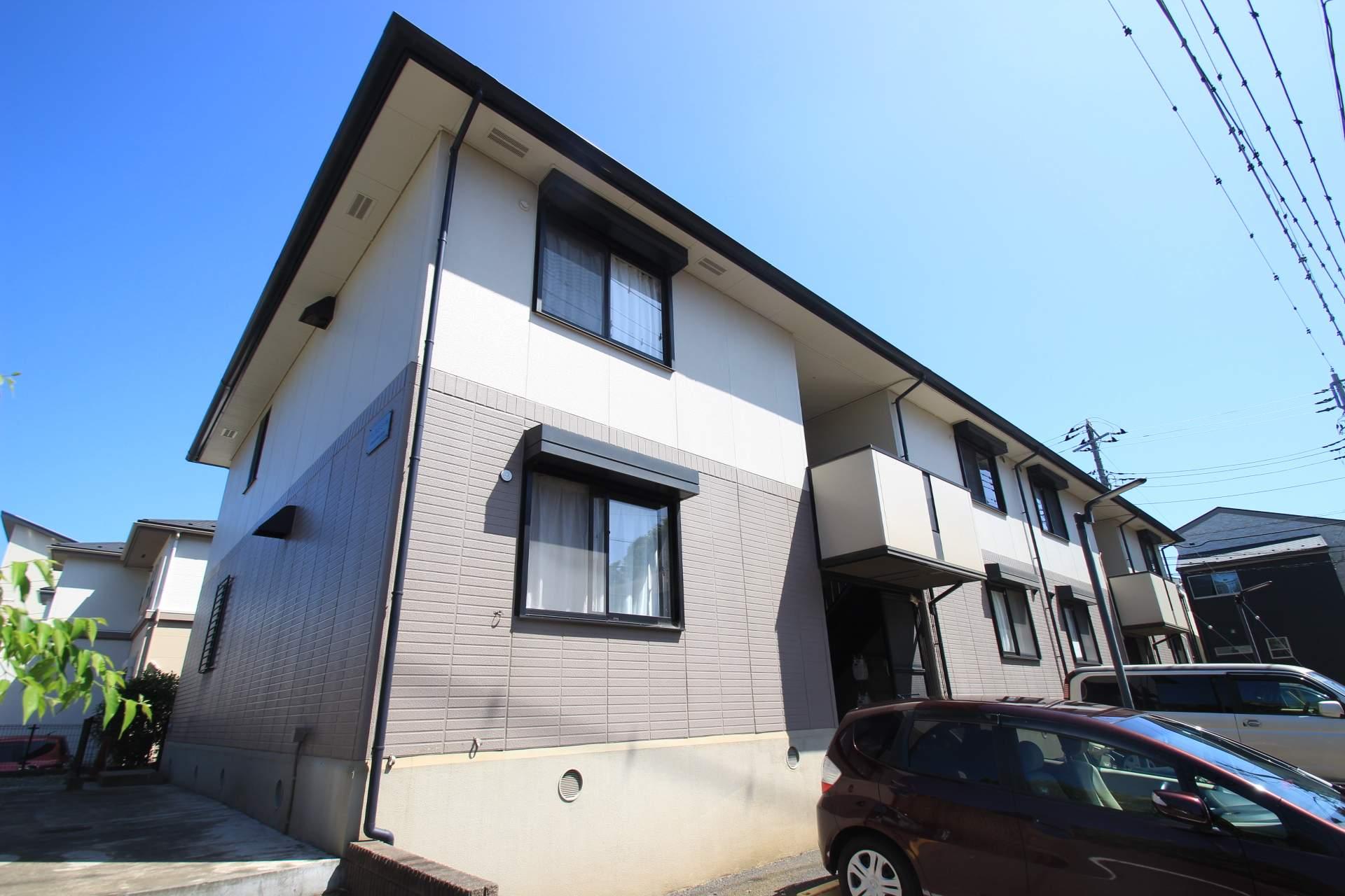 千葉県船橋市、船橋法典駅徒歩18分の築17年 2階建の賃貸アパート