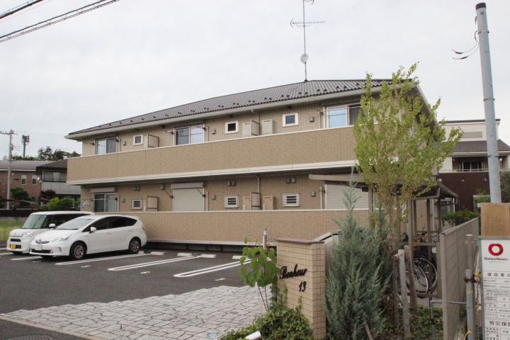 千葉県船橋市、船橋法典駅徒歩20分の築4年 2階建の賃貸アパート