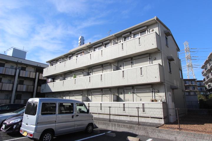 千葉県船橋市、船橋駅徒歩12分の築9年 3階建の賃貸アパート