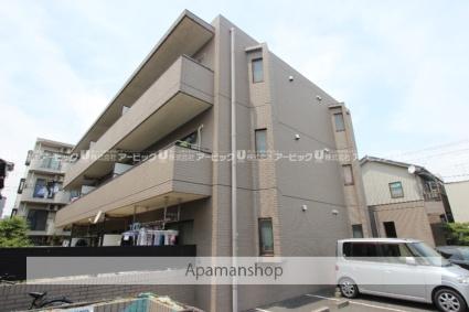 千葉県市川市、本八幡駅徒歩13分の築22年 3階建の賃貸マンション