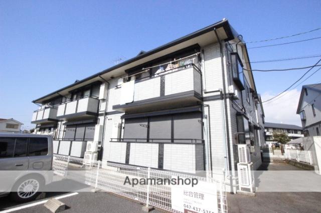 千葉県船橋市、前原駅徒歩9分の築17年 2階建の賃貸アパート