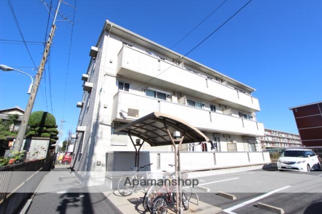 千葉県船橋市、東船橋駅徒歩15分の築10年 3階建の賃貸アパート