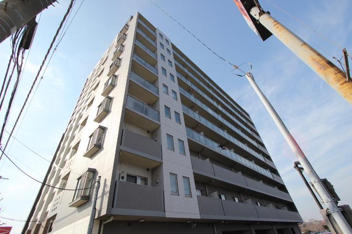千葉県船橋市、船橋駅徒歩14分の築9年 9階建の賃貸マンション