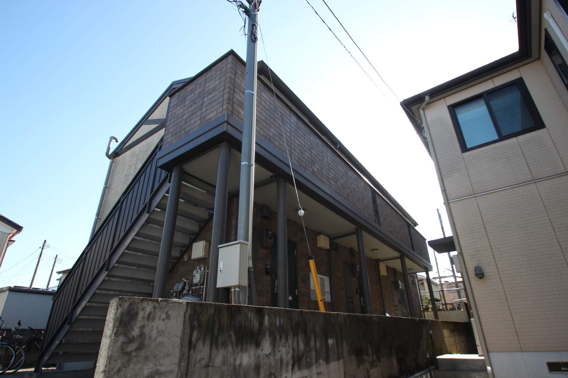 千葉県船橋市、津田沼駅徒歩13分の築8年 2階建の賃貸アパート