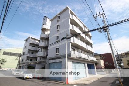 千葉県船橋市、京成船橋駅徒歩19分の築27年 5階建の賃貸マンション