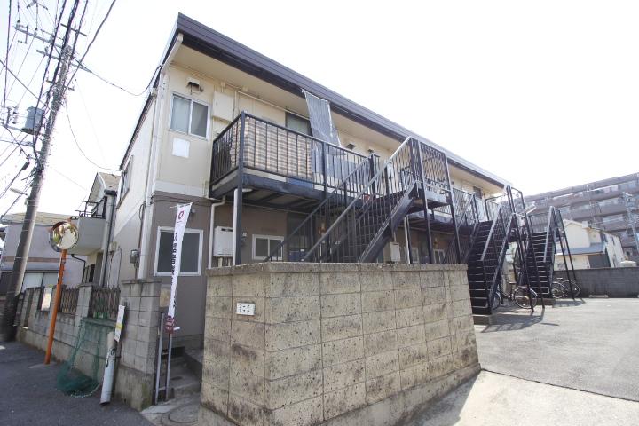 千葉県船橋市、船橋駅徒歩17分の築37年 2階建の賃貸アパート