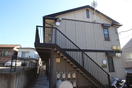 千葉県習志野市、津田沼駅徒歩15分の築17年 2階建の賃貸アパート