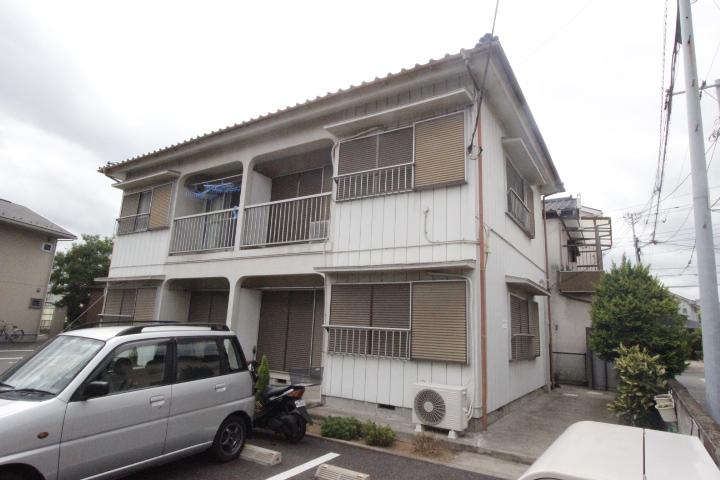 千葉県船橋市、船橋駅徒歩17分の築32年 2階建の賃貸アパート