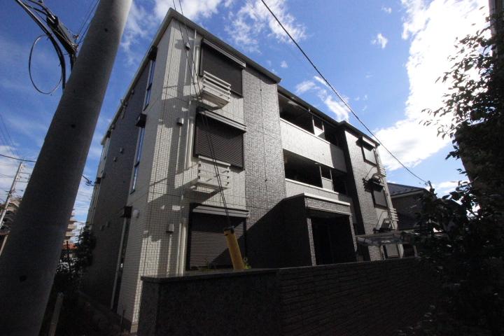 千葉県船橋市、西船橋駅徒歩15分の築1年 3階建の賃貸アパート