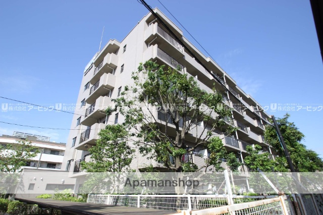 千葉県船橋市、下総中山駅徒歩10分の築25年 6階建の賃貸マンション