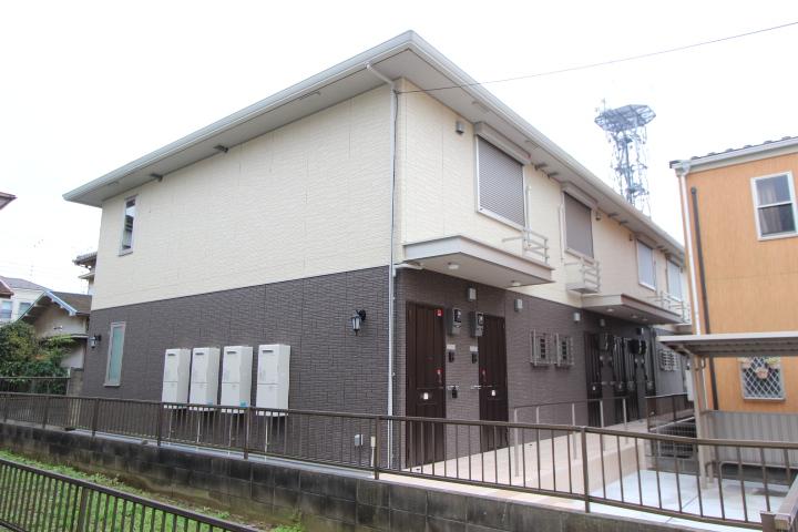 千葉県習志野市、津田沼駅徒歩22分の新築 2階建の賃貸アパート