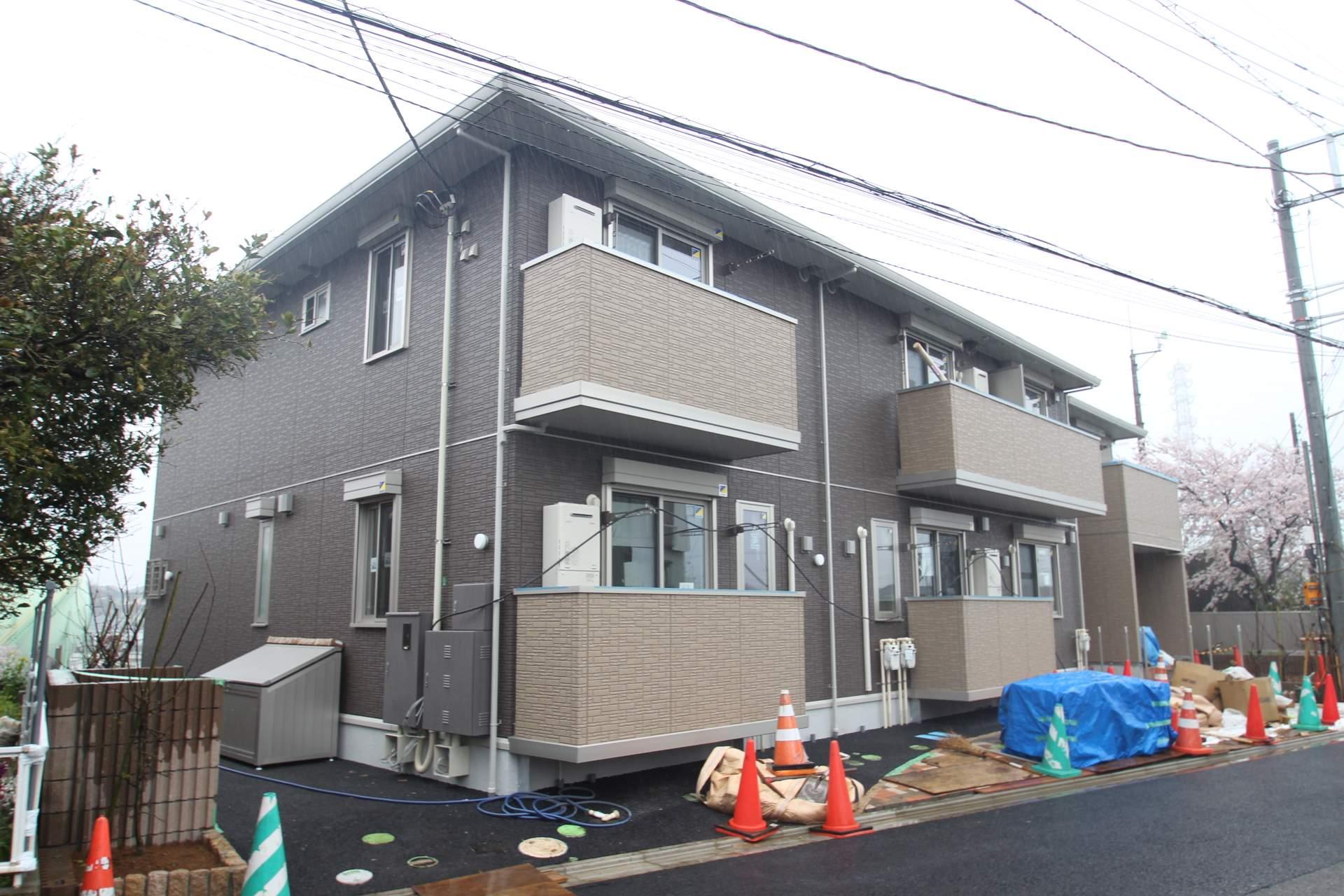 千葉県習志野市、京成津田沼駅徒歩18分の新築 2階建の賃貸アパート