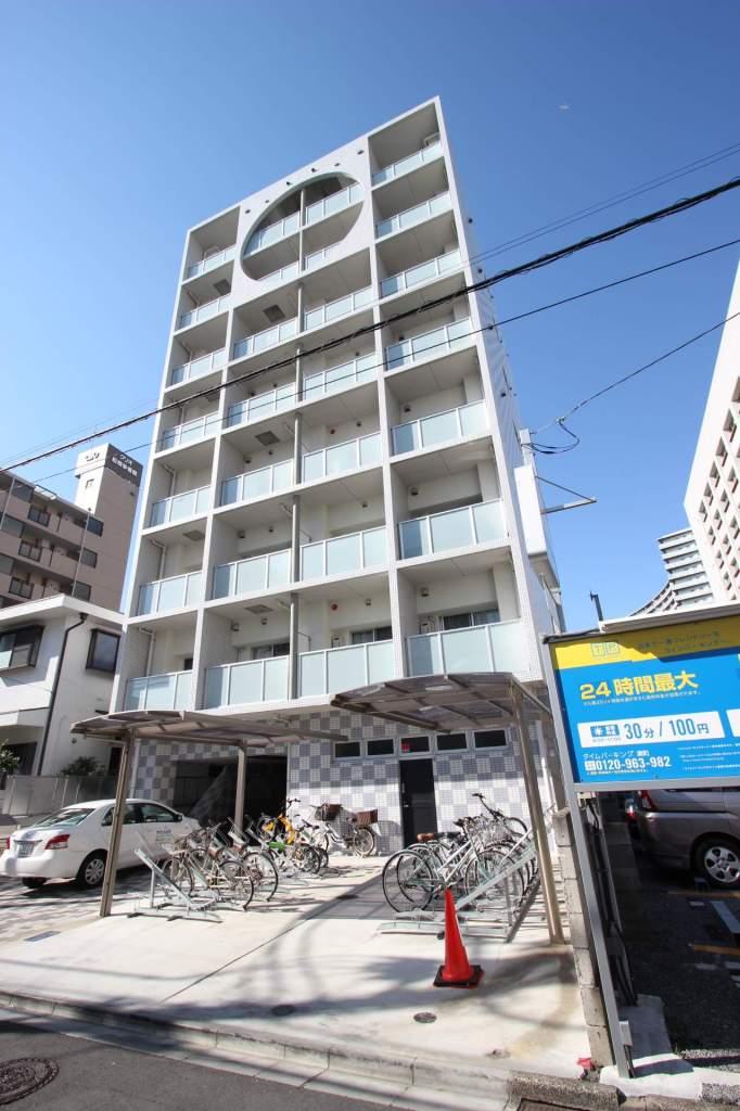 千葉県船橋市、船橋駅徒歩14分の築5年 8階建の賃貸マンション