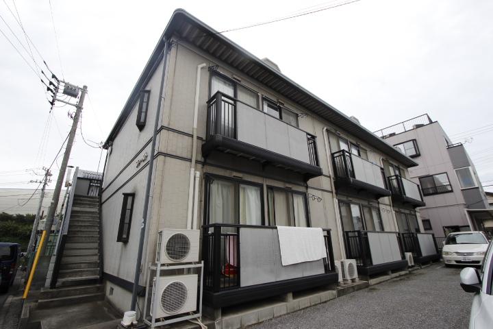 千葉県船橋市、海神駅徒歩15分の築20年 2階建の賃貸アパート