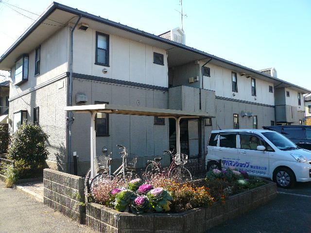 千葉県船橋市、津田沼駅バス8分坂下下車後徒歩5分の築21年 2階建の賃貸アパート