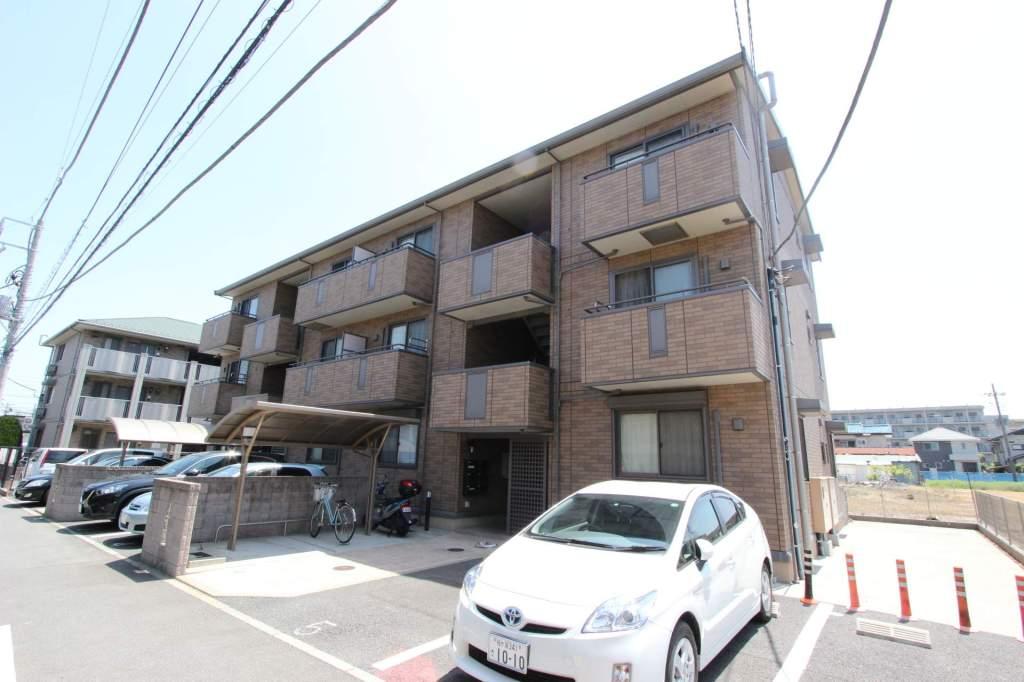 千葉県船橋市、船橋駅バス10分エステート夏見下車後徒歩4分の築10年 3階建の賃貸アパート