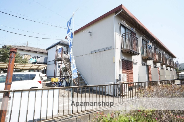 千葉県船橋市、習志野駅徒歩25分の築24年 2階建の賃貸アパート