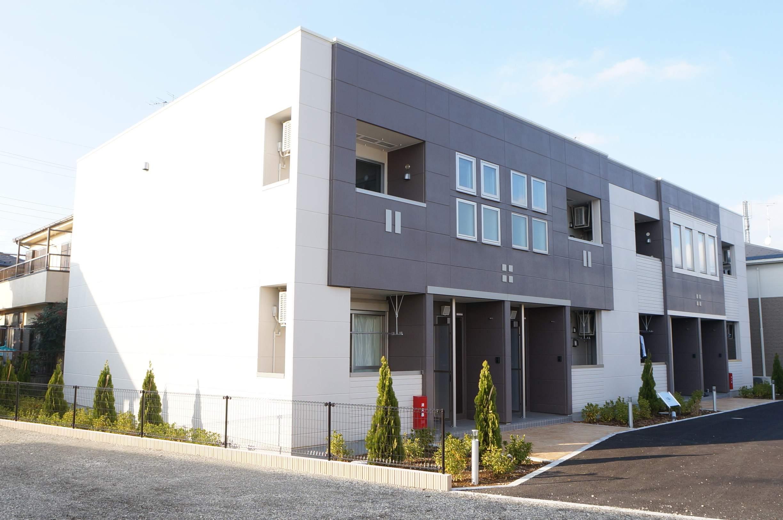 千葉県船橋市、北習志野駅新京成バスバス10分刈米下車後徒歩5分の築2年 2階建の賃貸アパート