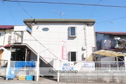 千葉県八千代市、八千代台駅徒歩22分の築25年 2階建の賃貸アパート