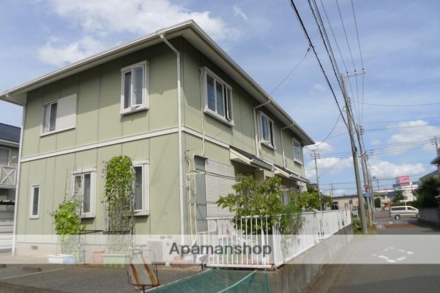 千葉県佐倉市、勝田台駅徒歩19分の築25年 2階建の賃貸テラスハウス