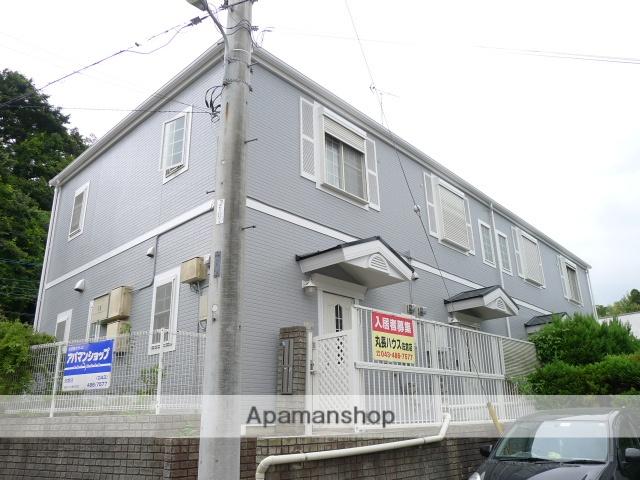 千葉県佐倉市、京成佐倉駅徒歩3分の築17年 2階建の賃貸テラスハウス