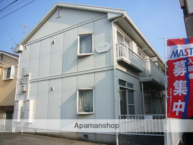 千葉県佐倉市、勝田台駅徒歩9分の築30年 2階建の賃貸アパート