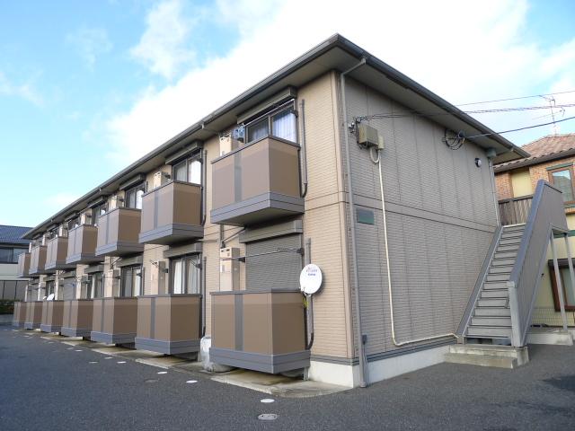 千葉県成田市、宗吾参道駅徒歩37分の築12年 2階建の賃貸アパート