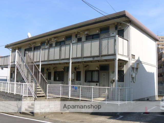 千葉県佐倉市、京成臼井駅徒歩4分の築25年 2階建の賃貸アパート