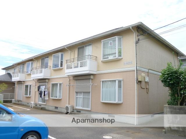 千葉県佐倉市、佐倉駅徒歩17分の築24年 2階建の賃貸アパート