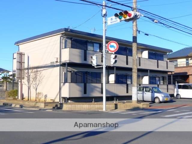 千葉県佐倉市、京成佐倉駅徒歩19分の築19年 2階建の賃貸アパート