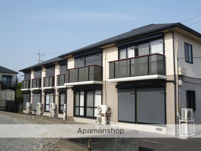 千葉県佐倉市、京成佐倉駅徒歩19分の築22年 2階建の賃貸アパート