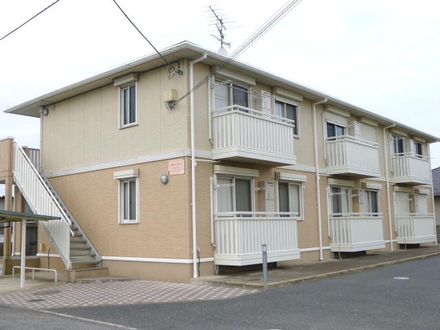 千葉県富里市、成田空港(第1旅客ターミナル)駅徒歩114分の築9年 2階建の賃貸アパート