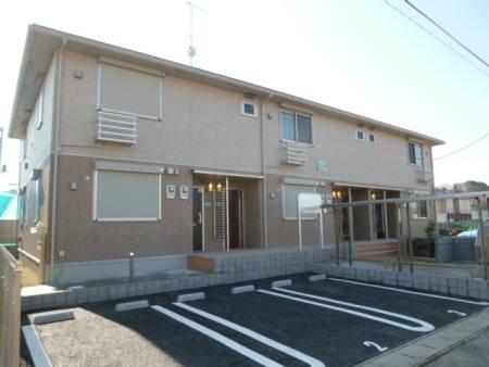 千葉県佐倉市、佐倉駅徒歩13分の築3年 2階建の賃貸アパート